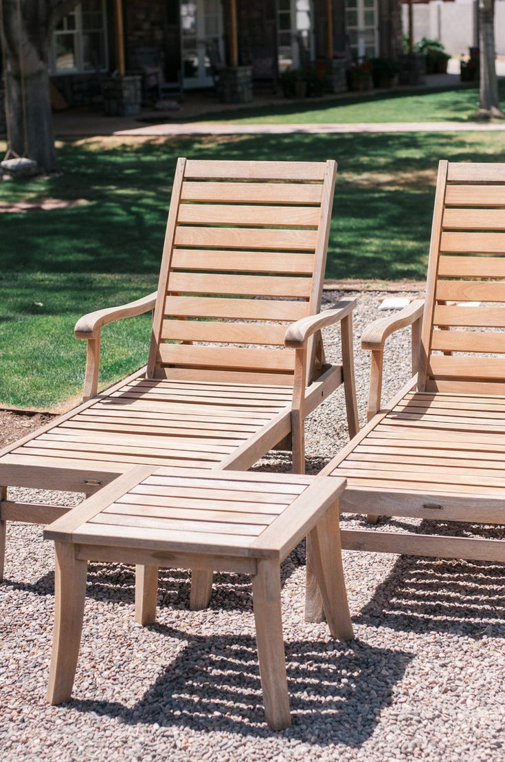 How To Restore Teak Wood Furniture With Images Teak Outdoor Furniture Garden Furniture Design