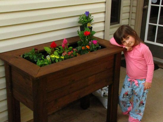 Best 25+ Raised Planter Ideas On Pinterest | Vegetable Boxes, Raised Planter  Boxes And Planter Beds