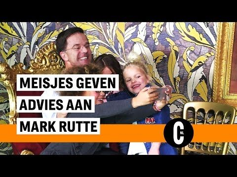 Mark Rutte krijgt advies van meisjes (5-11 jaar)  | Cosmopolitan Nederland - YouTube