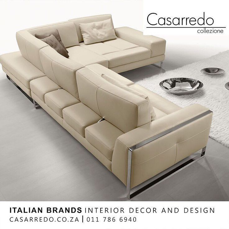 The Laguna leather Sectional Sofa is the epiphany of comfort and leisurely design with varying details that denote its unforgettable disposition.  Manufactured in Italy by Gamma Arredamenti the Laguna does not overpower with its form but rather offers eloquent versatility in the form of its sliding back cushions that help convert its standard seat depth into a deeper one.  Exclusive to Casarredo. Casarredo.co.za ǀ 011 786 6940  #CasarredoSA #Gamma #Lagunasofa #versatilefurniture #madeinitaly…