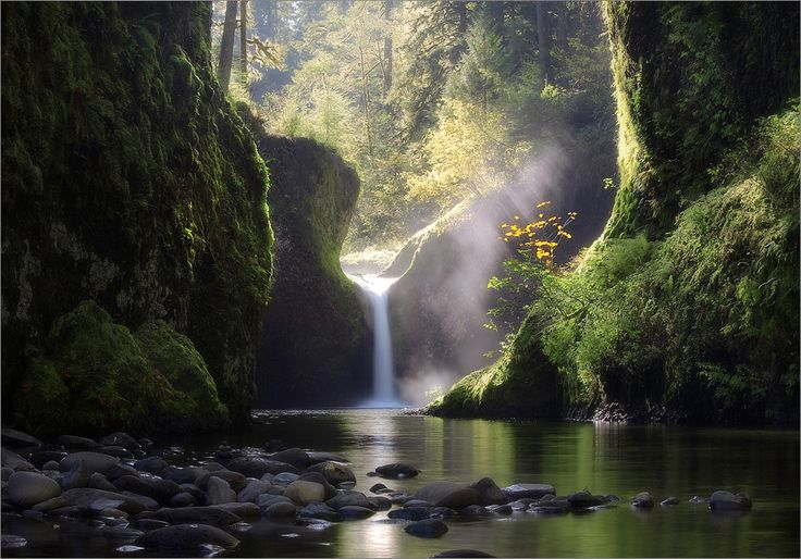 Waterfall..Punch Bowls, Favorite Places, Peace Places, The Eagles, Columbia Rivers Gorge,  Vale, Ben Marar, Nature Beautiful, Puree Nature