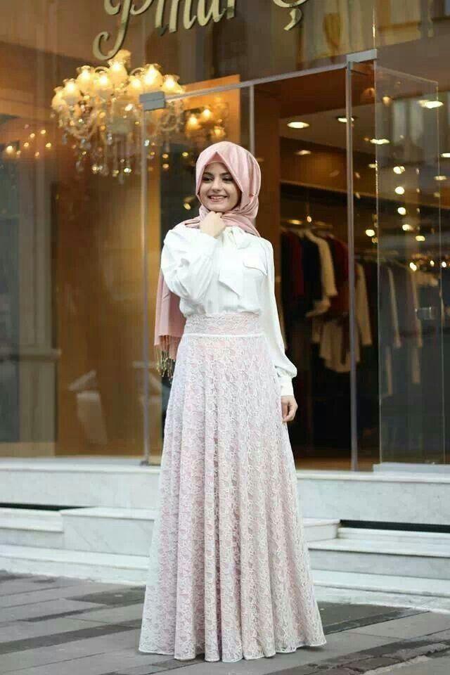 Beautiful outfit, mashallah.
