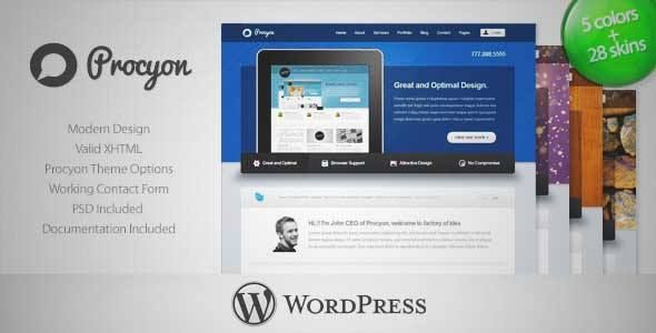 Download and review of Procyon - Corporate Business Wordpress Theme 6, one of the best Themeforest Corporative themes {Download & review at Review and download at} { -> }http://best-wordpress-theme.net/procyon-corporate-business-6-download-review/