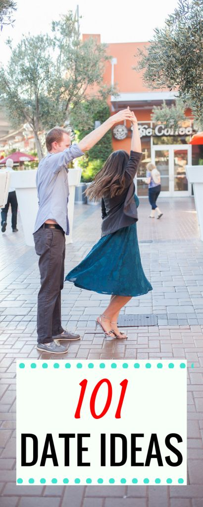 101 Date Ideas: Creative Date Ideas, unique date ideas, free date ideas, romantic date ideas- date ideas of all kinds in this excellent list of non-cheesy date ideas!