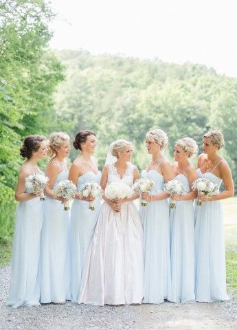 Best 25 Navy blue bridesmaids ideas on Pinterest  Blue