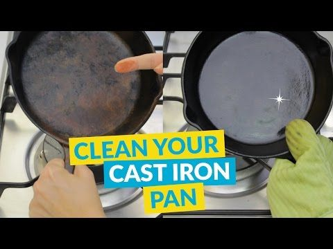 How to Clean and Reseason a Rusty Cast Iron Pan   Hometalk