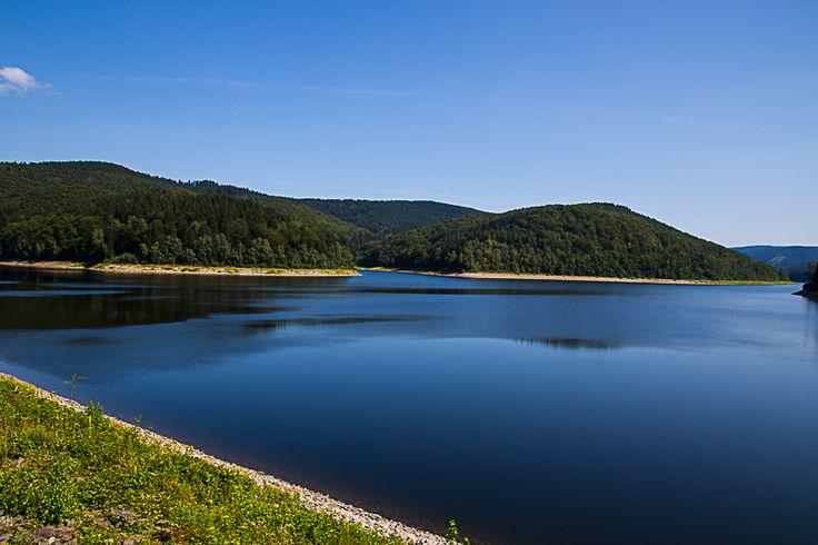Die Sösetalsperre bei Osterode im Harz