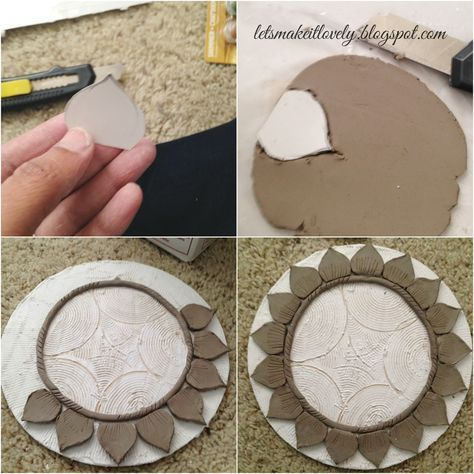 Clay Mural Tutorial Indian Clay Work Indian Wall Decor