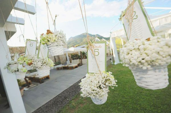 Tessuti naturali per un matrimonio in verde: Alice e Carlo | Wedding Wonderland