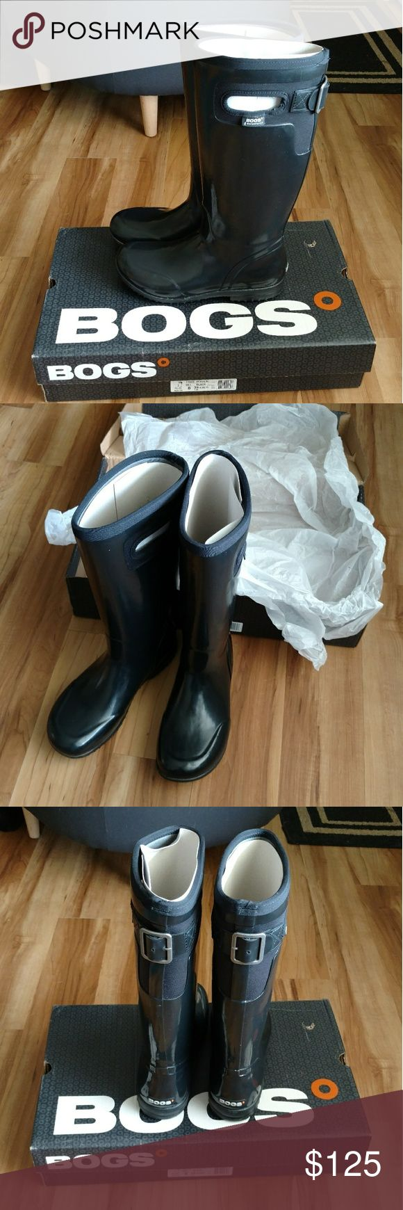 NWT Bogs Tacoma boots New, in box. Worn 1 time trying them out. Great boots, but warmer than I need. Bogs Shoes Winter & Rain Boots