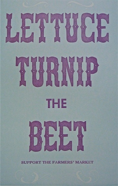 hehe. just purchased a small print of this for the kitchen.: Beats, Kitchens, Beets, Dust Jackets, Books Jackets, Farmers Marketing, Dust Covers, Lettuce Turnip,  Dust Wrappers