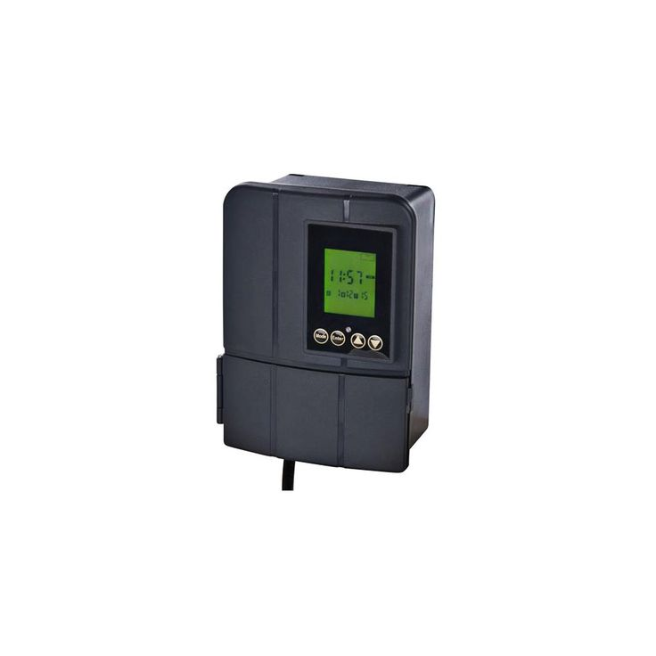 Black Low Voltage 600 Watt Transformer with Sunwise Control - Style # 1W876