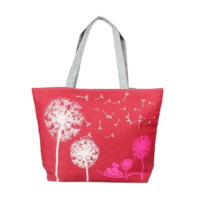 Encontrar Más Bolsas de hombro Información acerca de Nuevo diseñador de la marca 2015 moda lienzo bolso de los bolsos de mujer playa de la taleguilla bolsas de la compra, alta calidad bolsa de ciervos, China La bolsa de casa Proveedores, barato bolsa de jardín de Merry Boutique en Aliexpress.com