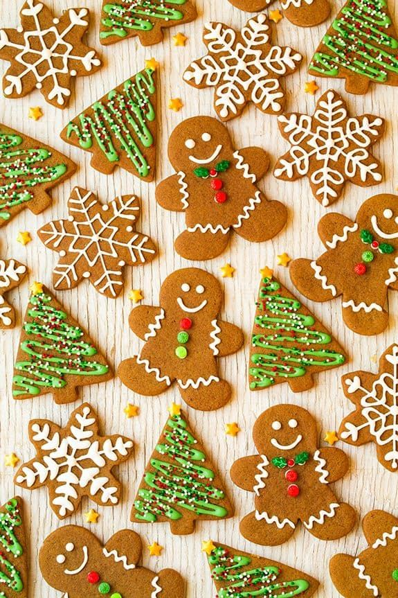 """Not my gumdrop buttons!"" Whenever I think of gingerbread men of course that line from Gingy (on Shrek) always comes to mind. Gingerbread cookies are such"