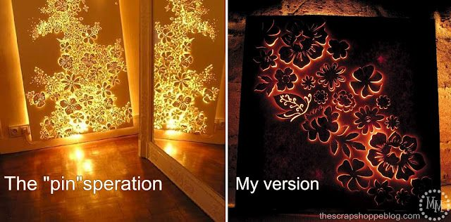 tutorial to make lighted canvas artwork using French Artist's metal sculpture as inspiration.
