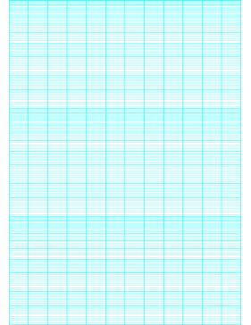 This semi-logarithmic, or semi-log, graph paper with 12 ...