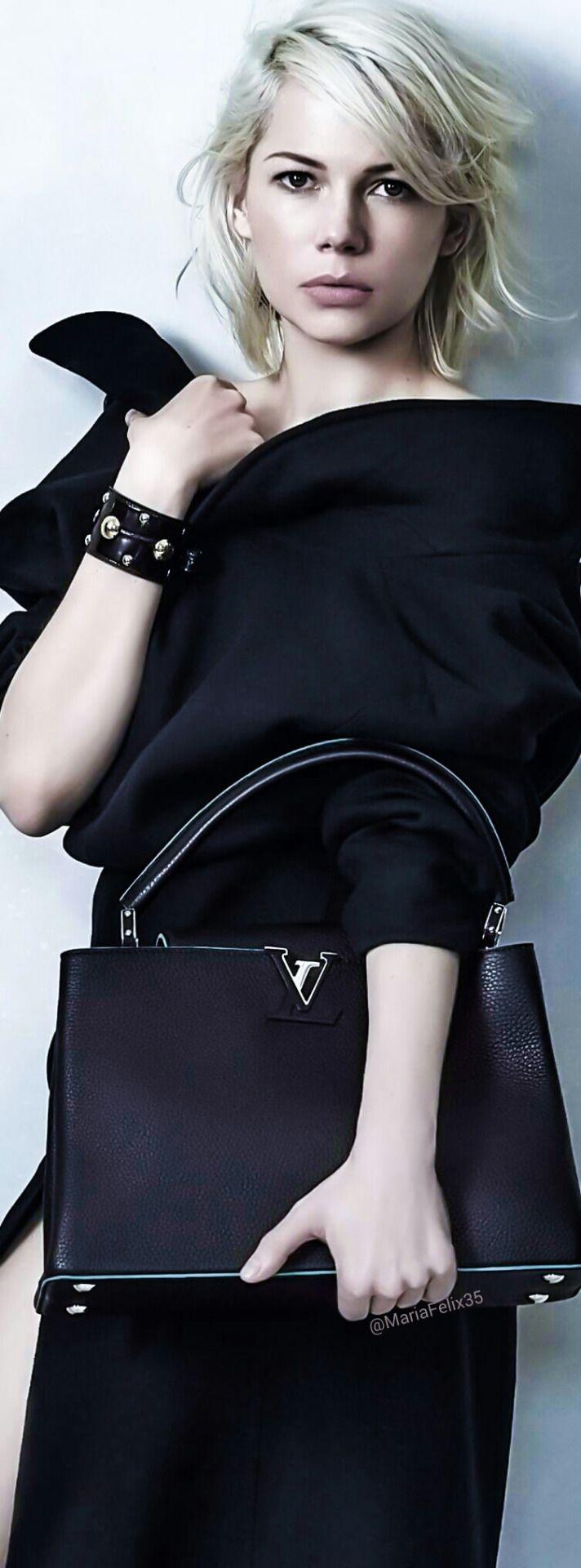 Fashion | Work Weare | FashionCasual | Rosamaria G Frangini || Michelle Williams for Louis Vuitton