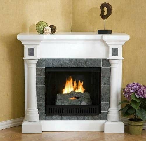 Best 25 slate fireplace surround ideas on pinterest for Victorian corner fireplace