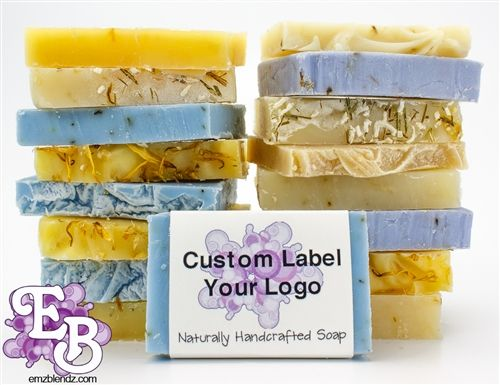Handmade Natural Bu0026B Inn Guest Amenity Soap Bars, Case Of 100