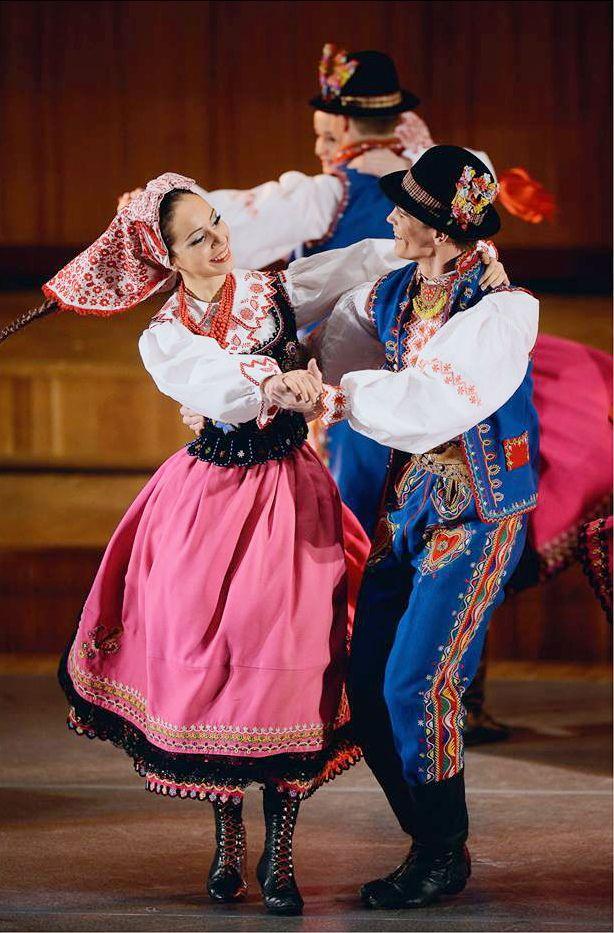 Lunacylover Polish costumes Lachy Su0105deckie (Nowy Su0105cz) folk costume (u015alu0105sk Song and Dance ...