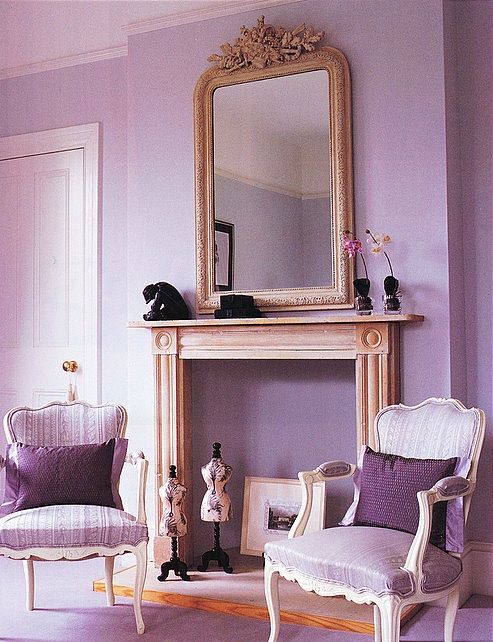 Lavender Living Room Lilac BedroomGrey