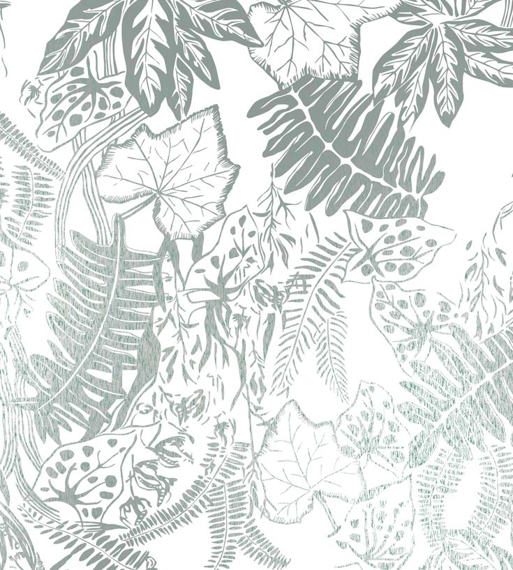 Tropical Interior Trend | Hothouse Wallpaper by Independent Designers | Jane Clayton
