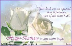 happy birthday to my twin brother http://www.wishesquotez.com/2017/01/happy-birthday-wishes-images-with-quotes-and-text-messages-for-twins-boy-and-girl.html