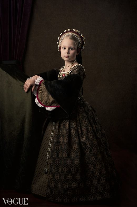 Here is one of my Tudor costumes, made for this lovely young model. Photographer: Nicole Wells. dress gown henrican renaissance girdle belt French hood child
