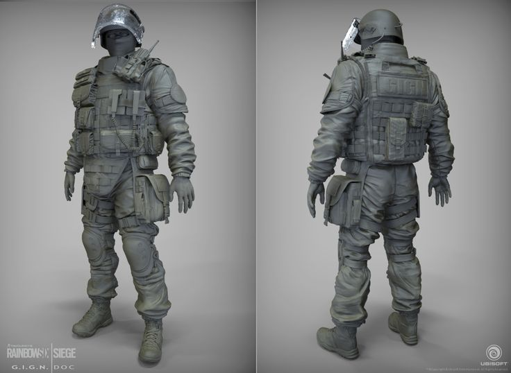 Rainbow Six Siege Gign Operators: ArtStation - Doc