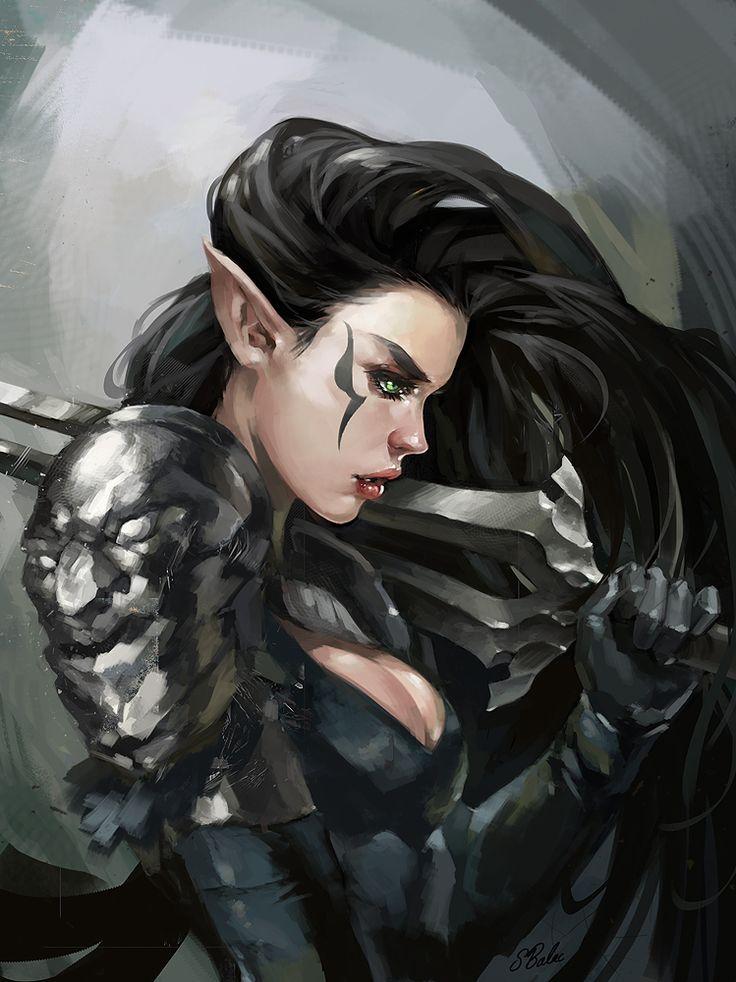 elf warrior by sbalac on DeviantArt