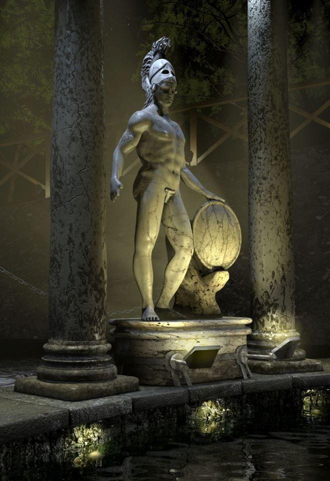 1000 images about tivoli lazio on pinterest gardens for Soluzione giardini superiori god war 3