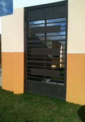26 best images about portones de metal on pinterest - Puertas para garage ...