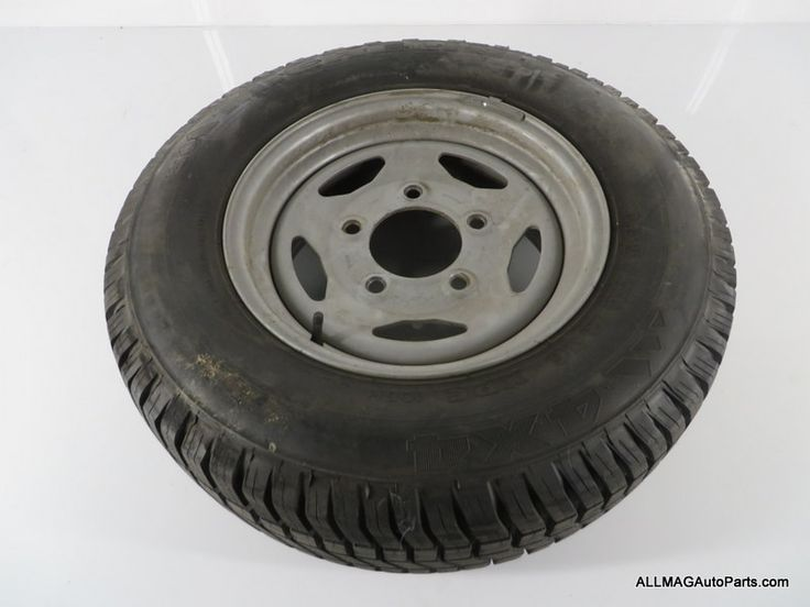 1994-1999 Land Rover Discovery 1 Steel Spare Wheel and Tire NTC5193 60 D1