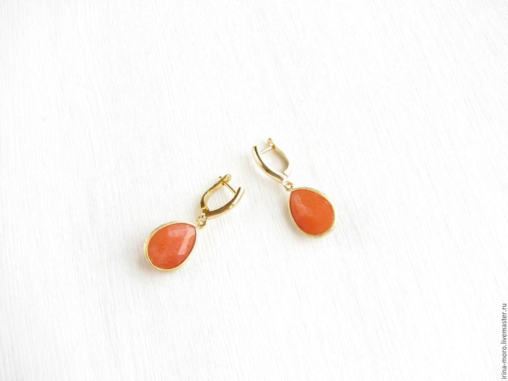 """Купить Серьги """"Цитрус"""" серьги оранжевые с нефритом, серьги крупные, яркие - серьги оранжевые. Beautiful, original large earrings """"Citrus"""" orange jade and gold plated chinsamy. #earring #jewelry #whiteearrings #goldearrings #dangleearrings #agate #longearrings #bridalearrings #oscarstyle #oscarearrings #luxuryjewelry #roseearrings #fashionjewelry #earrings #earringdangle #statementearrings #etsy #handmade #серьги #оранжевыесерьги #красивыесерьги #orange #оранжевый"""