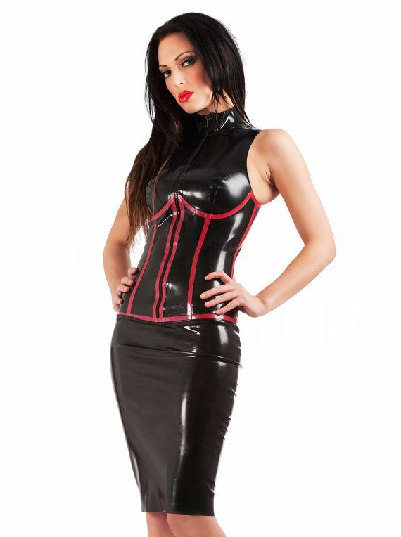Latex Rubber Subordination Dress by SkinTwoLatex on Etsy