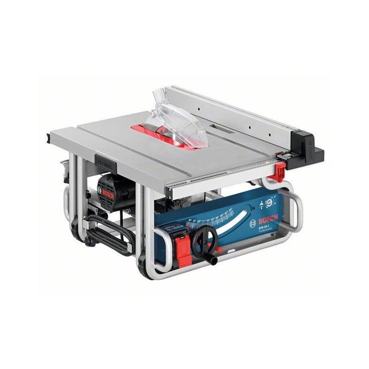 Ferăstrău circular de banc Bosch GTS 10 J Professional: Avantaje client:Motor puternic de 1.800 W cu limitarea curentului de pornire şi protecţie la suprasarcină pentru un avans de lucru rapidTransport optim datorită construcţiei compacte şi numeroaselor suprafeţe de prinderePană de despicat escamotabilă pentru tăieri ascunseLimitator paralel cu auto-ajustare pentru tăieri preciseÎnălţimi de tăiere de până la 79 mm, capacităţi de tăiere de până la 460 mm în dreapta şi de 210 mm în stânga…