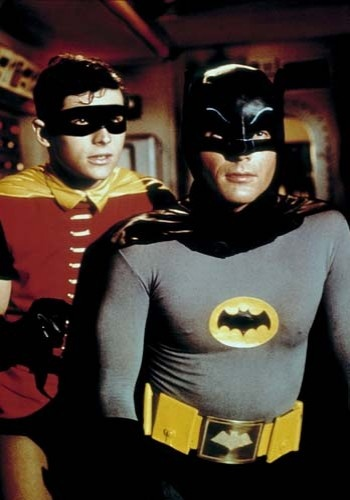 "Jan. 13, 1966, Adam West and Burt Ward star in the premiere of ""Batman"" on ABC-TV."