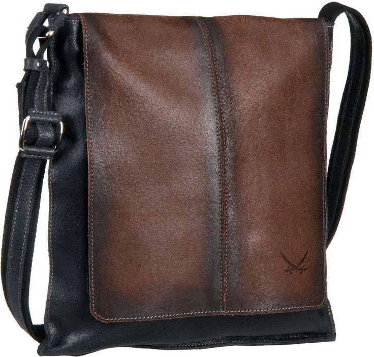 Sansibar Halny Crossover Bag Black - Umhängetasche