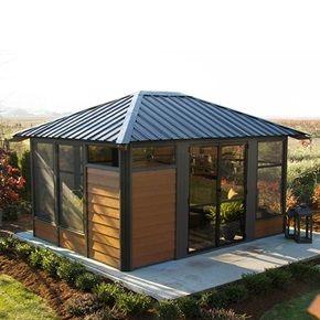 134 best meubles de jardin garden furniture images on for Gazebo pour piscine