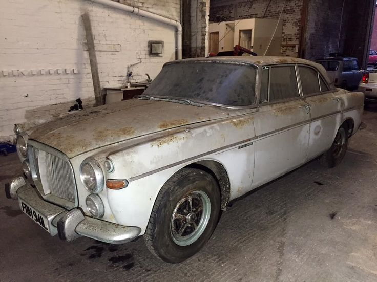 Rover Coupe 1972 Stored For Almost 40 Years Low Mileage Barn Find