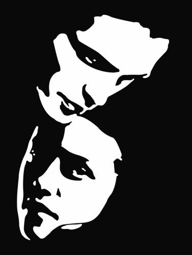 New Custom Screen Printed Tshirt Edward Amp Bella Portrait