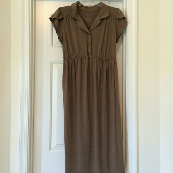 Liz Lange Brown Maternity Dress Pre owned but very good condition - Size small Liz Lange Dresses