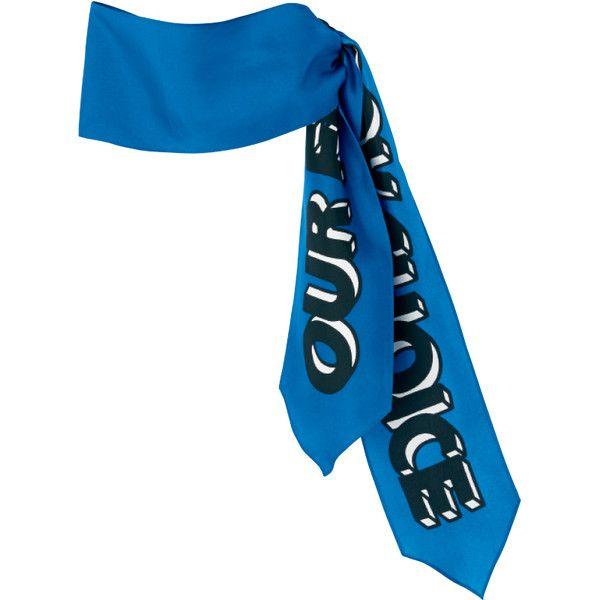 スカーフ ❤ liked on Polyvore featuring accessories, scarves, blue, jewelry, blue scarves and blue shawl