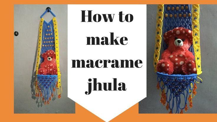 How to make Macrame Jhula | Full step by step HD Video | easy making