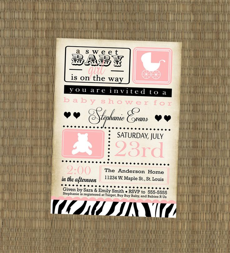 71 best animal print baby shower images on pinterest | animal, Wedding invitations