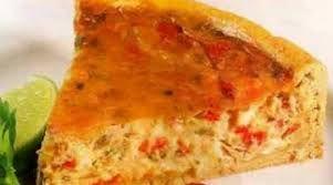 Tarta de tomate y atún