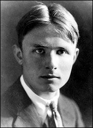 Christopher Isherwood (26 Aug 1904–4 Jan 1986), British novelist who wrote the novel Mr Norris Changes Trains and a short novel called Goodbye to Berlin, often published together in a collection called The Berlin Stories.