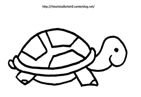 coloriage à dessiner tortue ninja hugo l'escargot