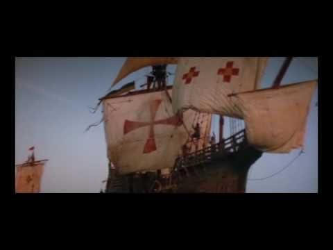 ▶ Columbus-1492 The Conquest of Paradise - YouTube = wordless story with real people and ships.  Great for Social Studies writing project. For more pins like this visit: http://pinterest.com/kindkids/music-and-videos-charlottes-clips/
