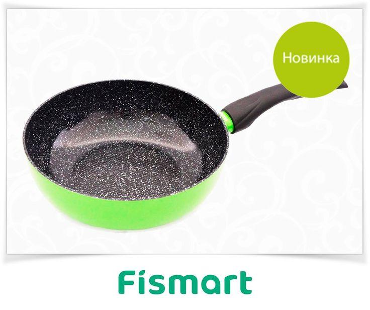 Глубока сковорода Lime 24 х 7.7 см  ▶ fismart.ru/catalog/skovorody/gluboka_skovoroda_lime_24_kh_7_7_sm_4965/  Сковорода Lime с антипригарным керамическим покрытием - это безопасный, практичный, экологически чистый, безвредный помощник на Вашей кухне. На сковороде с антипригарным керамическим покрытием можно готовить без масла или с минимальным его добавлением, что позволяет готовить диетические продукты. Использование сковороды рассчитано на 3000 циклов. При этом чистка сковороды занимает…